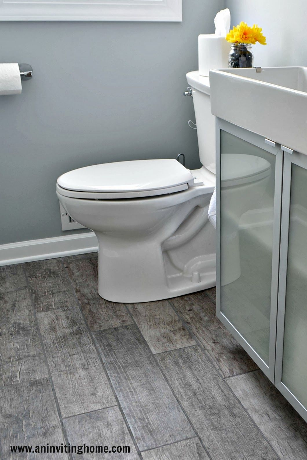 bathroom bathroom wall bathroom sinks wood floor bathroom gray tile