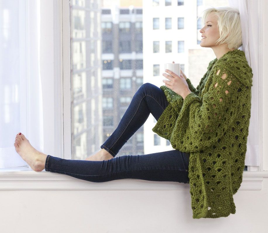 Penny Arcade Jacket - free crochet pattern | Fashion | Pinterest ...