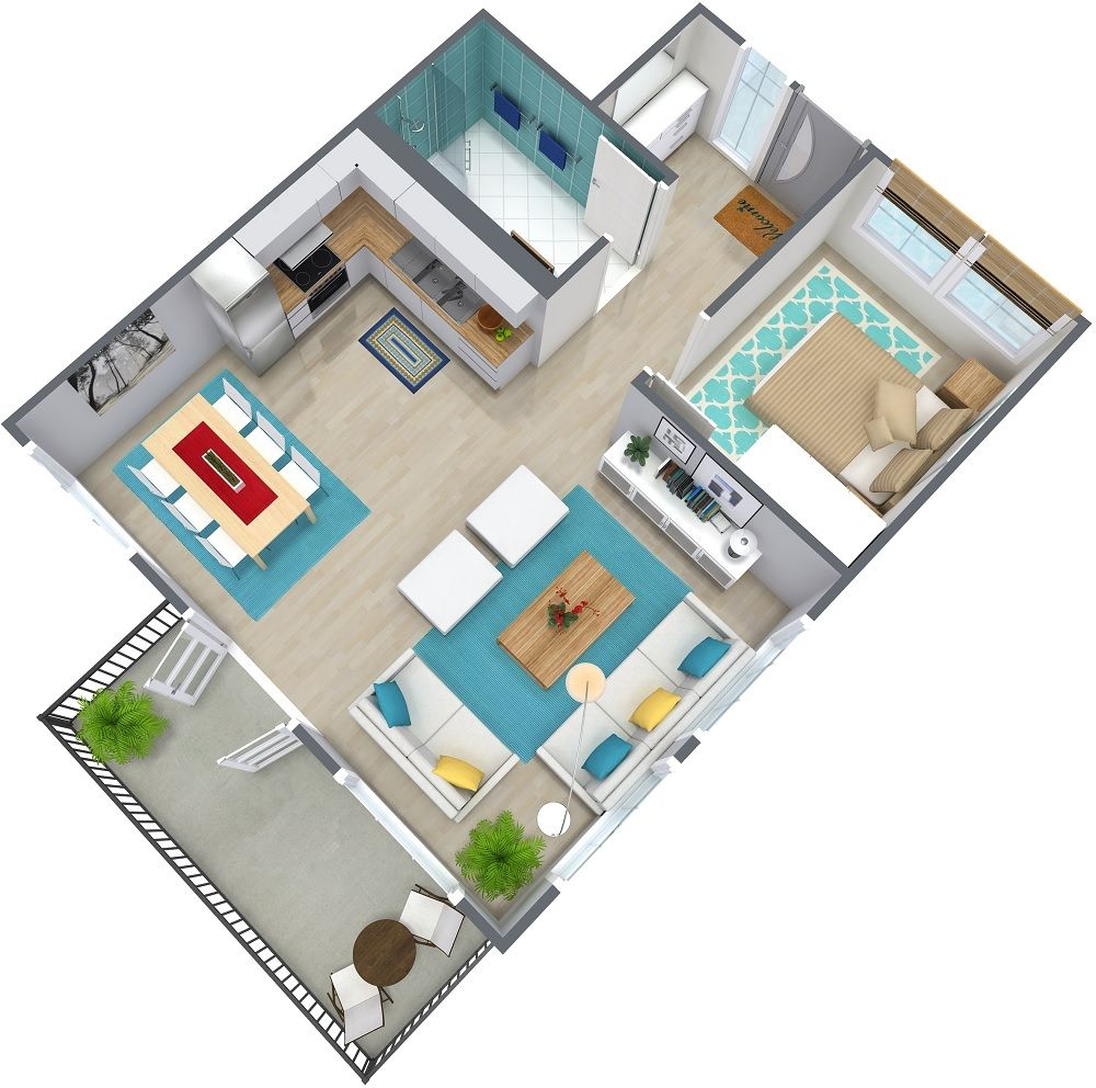 1 Bedroom Apartment Floor Plan Apartment Layout Apartment Floor Plan 2 Bedroom Apartment Floor Plan