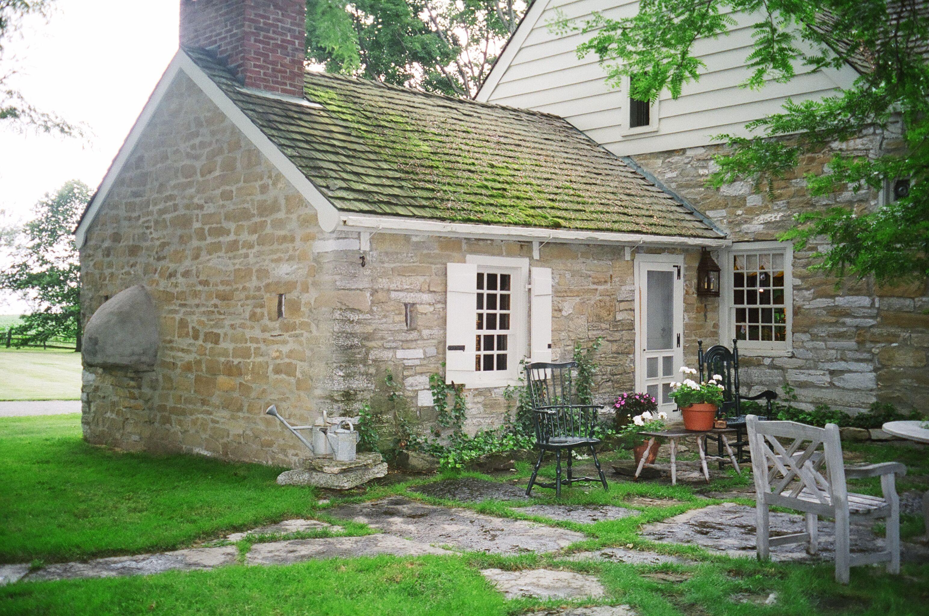 Stone farmhouse Country Living