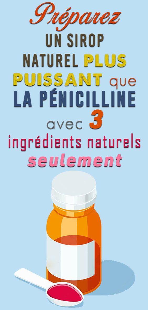Ce sirop naturel est 10x plus puissant que la pénicilline ...