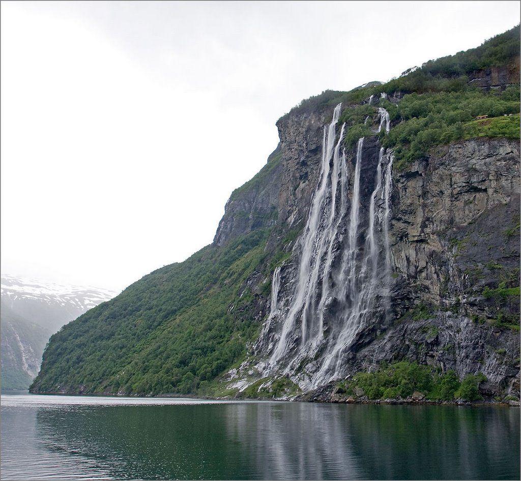 Seven Sisters waterfall / Geirangerfjord, Norway