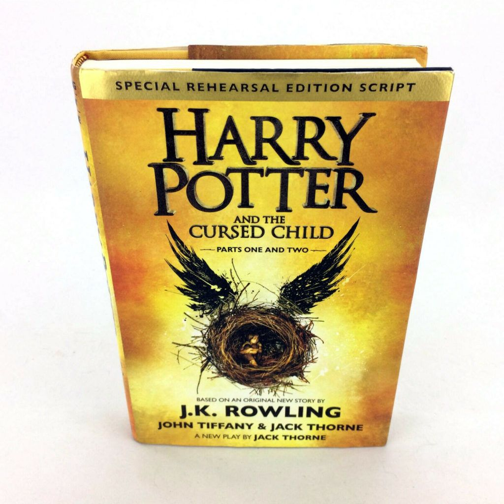 Harry Potter And The Cursed Child Book Special Rehearsal Edition Script 1st 1st Harry Potter Cursed Child Cursed Child Book