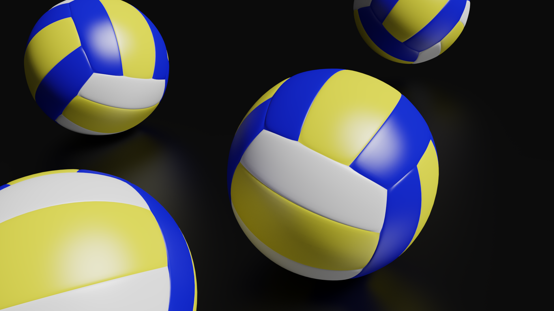 High Detailed Volleyball Ball Ball Volleyball Soccer Ball