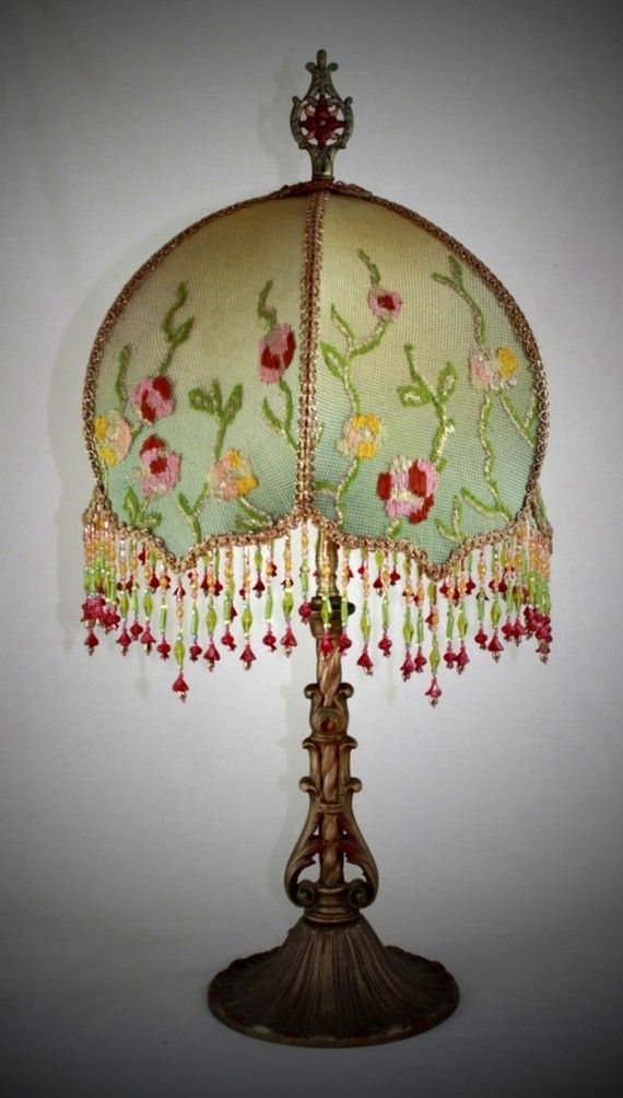 Flower Lampshade Flower Lampshade Watercolor Floral Lamp