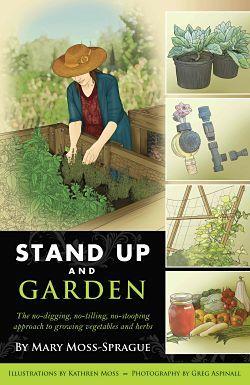 Stand up gardening