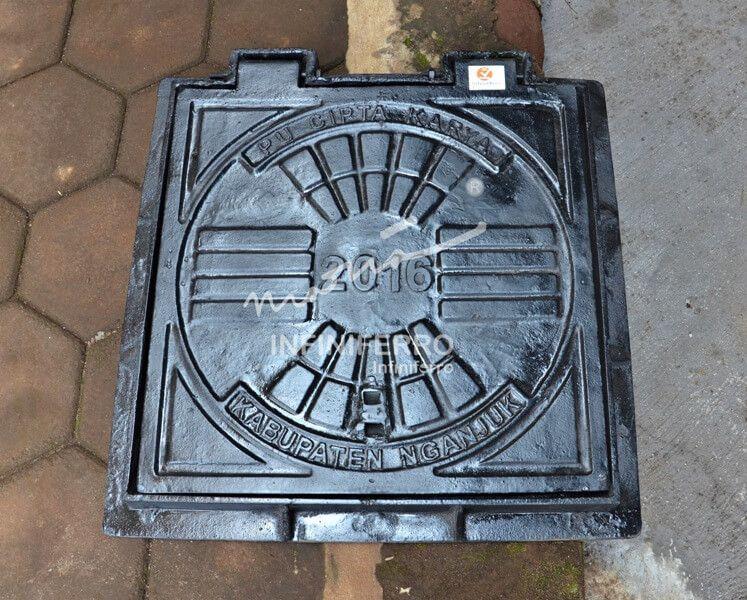 Manhole Cover Trotoar Drainase Kabupaten Nganjuk