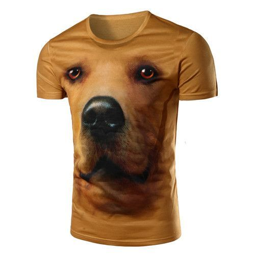 New hot Dog 3D T-Shirts for Men
