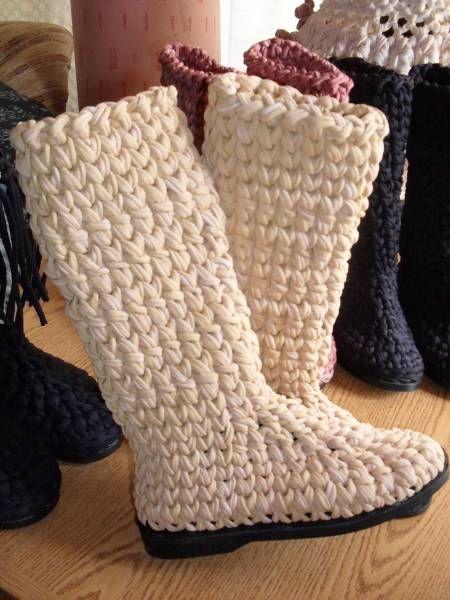 botas Nooooo, las tejeré! lo prometo!!! | Botas artesanales y ...