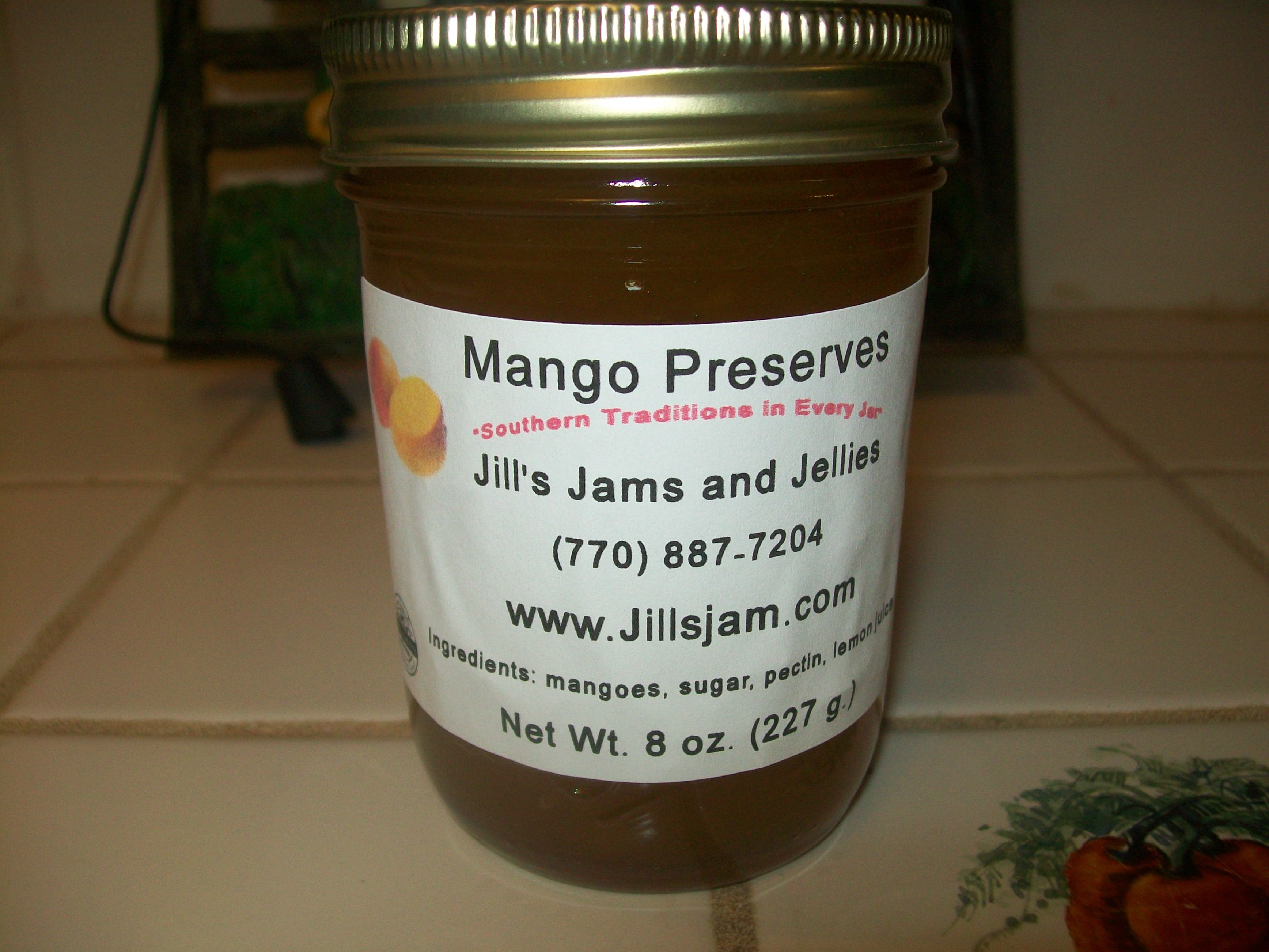 Mango Preserves Stage 1 Accepted