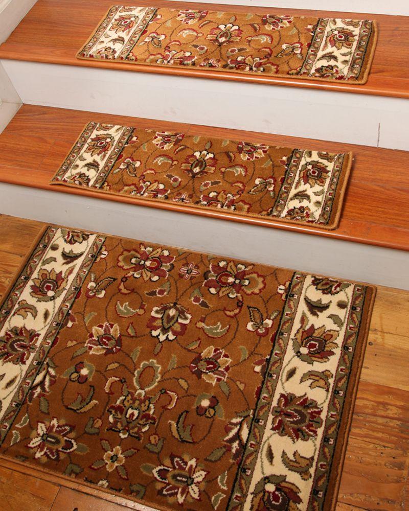 Best Sunrise Carpet Stair Tread W Landing Mat Set Of 13 400 x 300