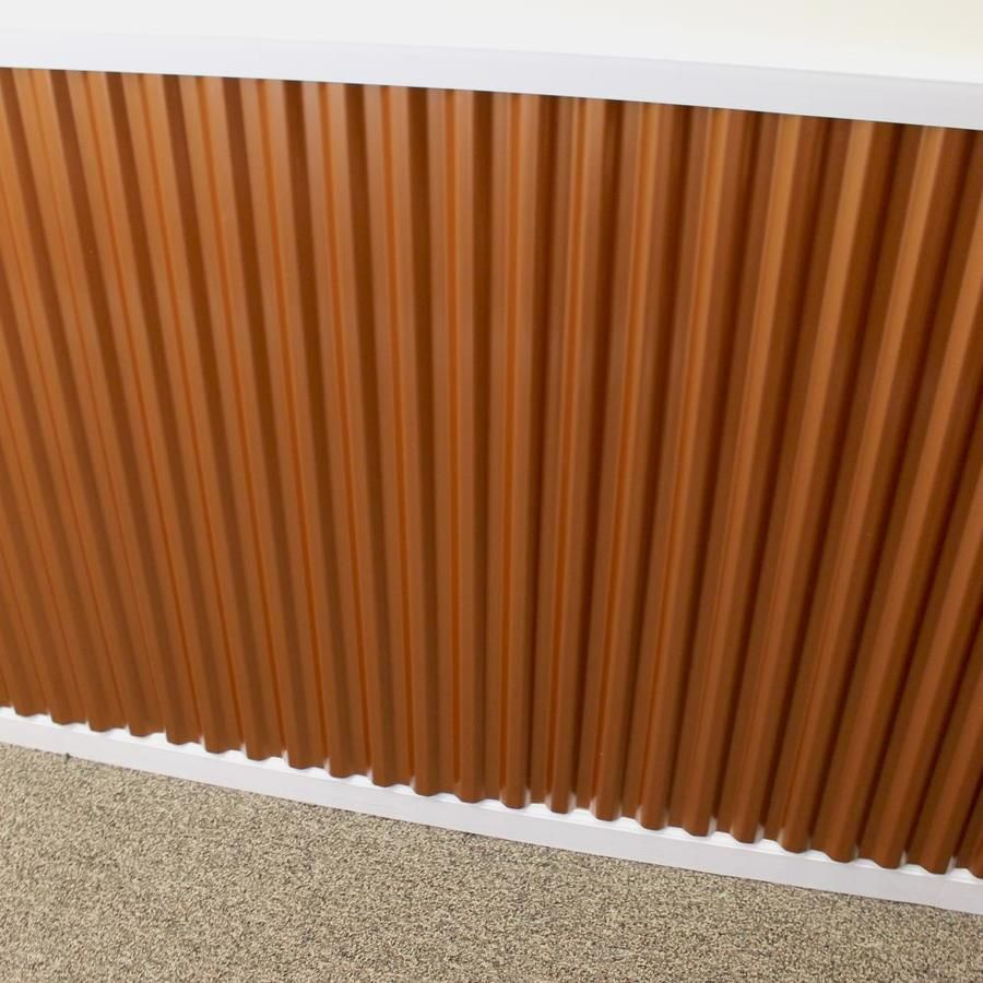 Tuftex Polydecor 2 17 Ft X 3 5 Ft Corrugated Polycarbonate Plastic Roof Panel Lowes Com Roof Panels Stylish Space Corrugated