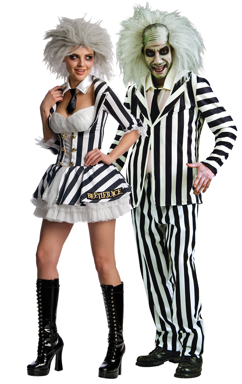 Beetlejuice Couples Costume in 2020 Beetlejuice couple