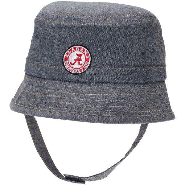 c953d566a6f Alabama Crimson Tide Top of the World Boy s Infant All Aboard Bucket Hat -  Light Blue