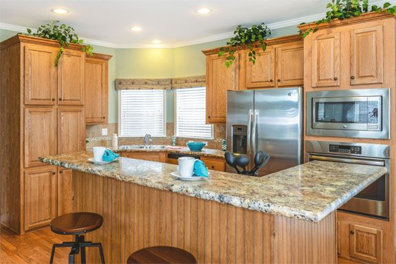 Ritz Craft Modular Ranch New Styles Homes Love It Modular Home Designs Modular Homes Kitchen Cabinet Inspiration