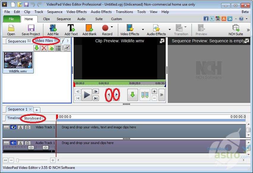 download videopad video editor professional full version free