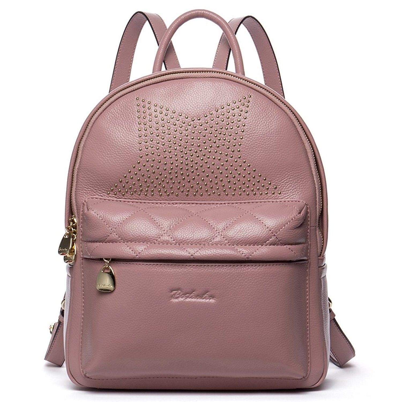 620f6cadae1 BOSTANTEN Women s Casual Leather Backpack Purse Satchel Shoulder School Bags    Visit the image link more details.