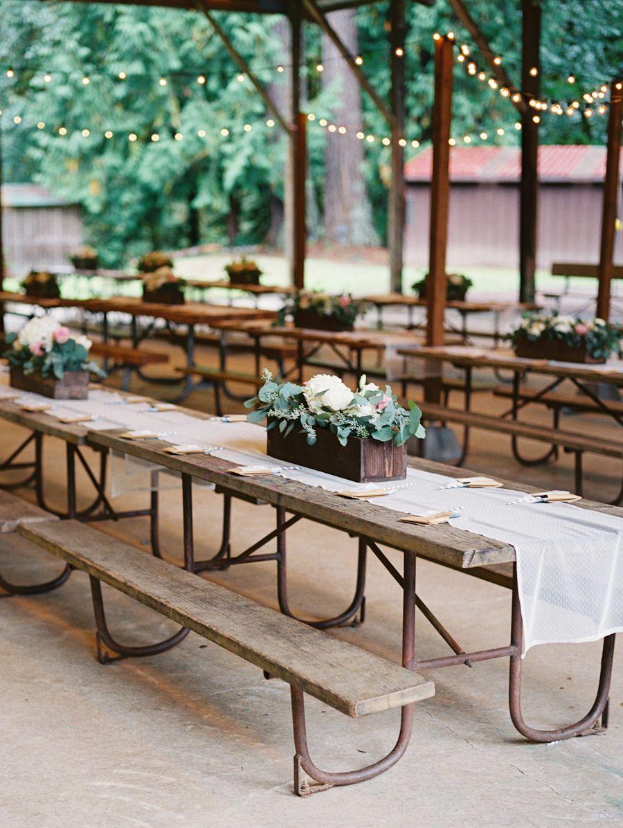 Diy Oregon Wedding At Camp Lane Rustic Weddings Pinterest