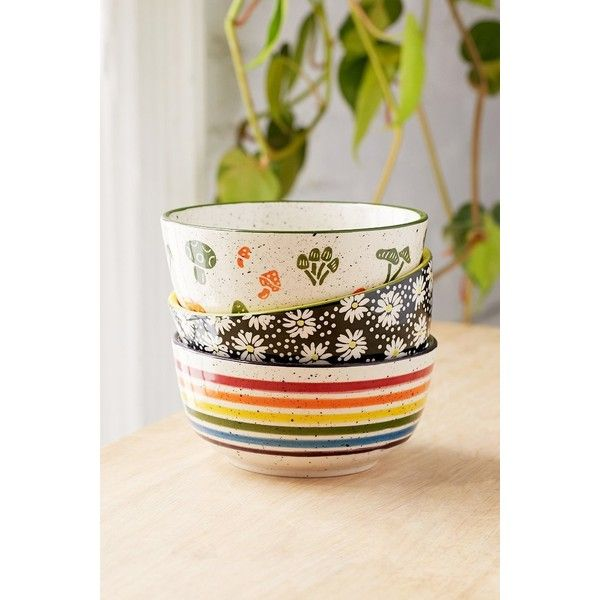 Shop UO Essential Printed Bowl at Urban Outfitters today. We carry all the latest styles colors and brands for you to choose from right here.  sc 1 st  Pinterest & UO Essential Printed Bowl (\u20ac893) ❤ liked on Polyvore featuring ...
