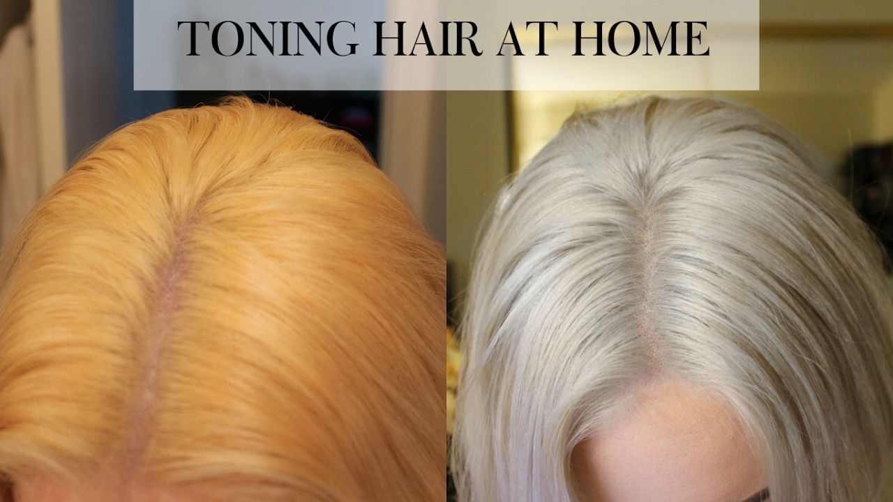 Toning Bleached Hair At Home Wella T18 Youtube With Images