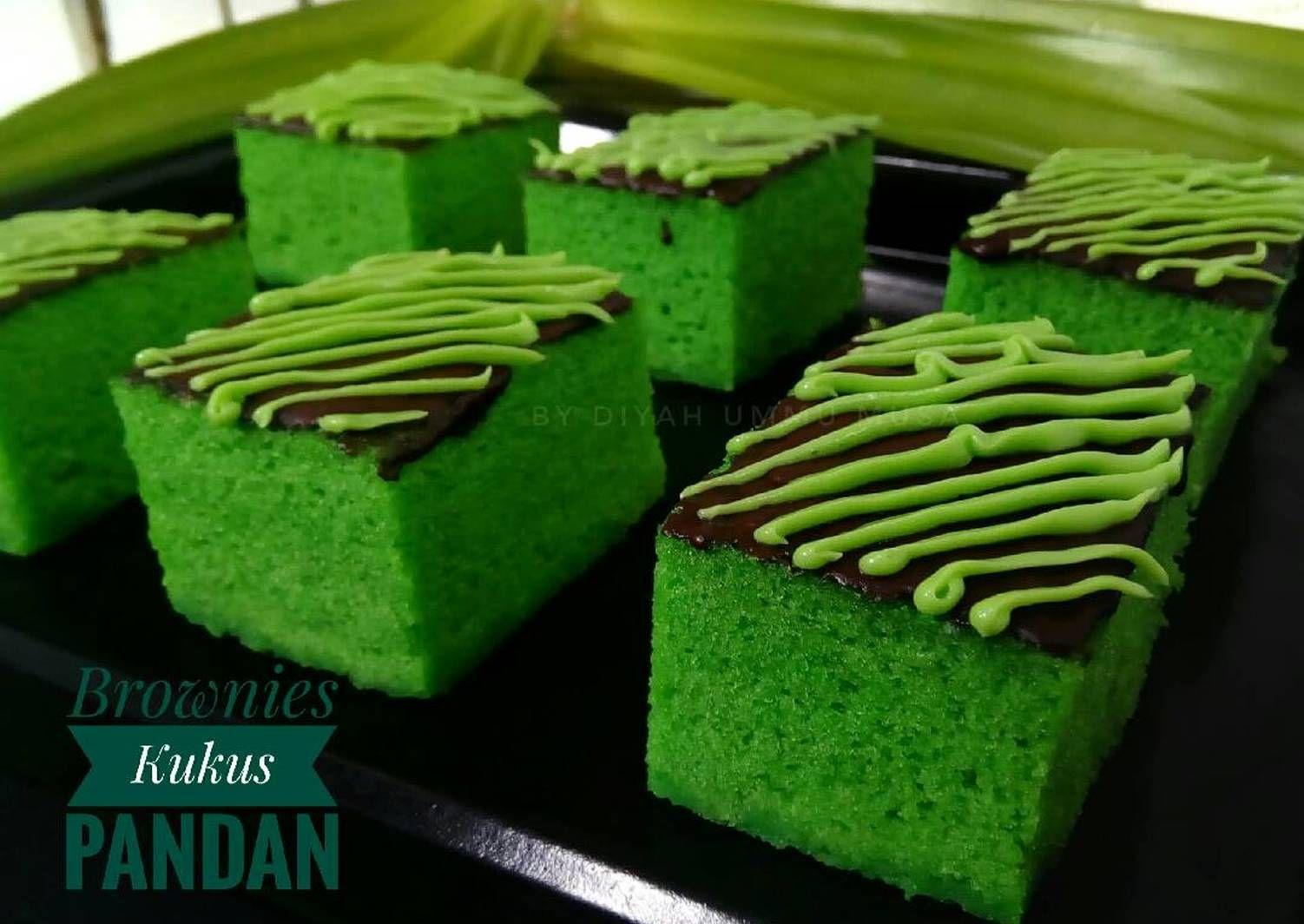 Resep Brownies Kukus Pandan Ny Liem Oleh Diyah Kuntari Resep Resep Makanan Kue Lezat