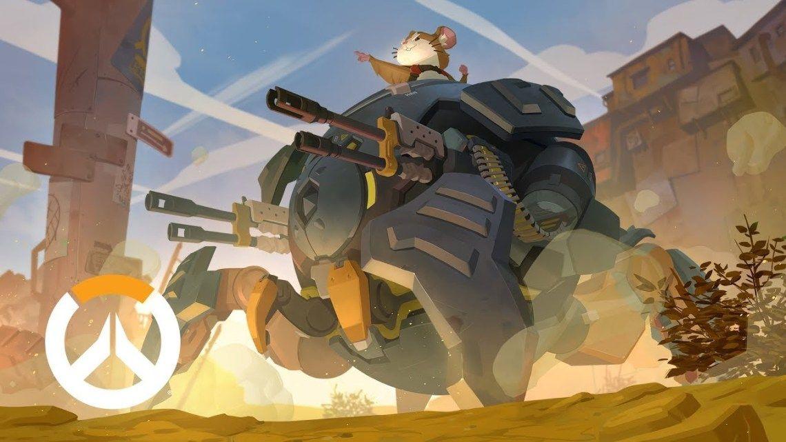 Hammond The Hamster The Wrecking Ball Overwatch Hero 28