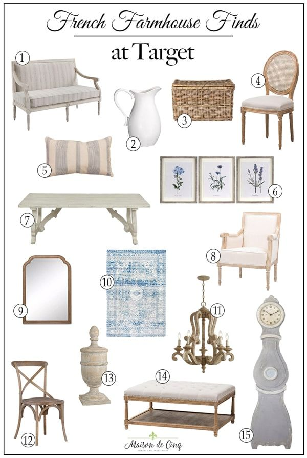 Photo of 40+ Fabulous French Farmhouse Finds at Target!