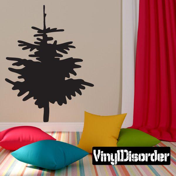 Christmas Tree Wall Decal - Vinyl Decal - Car Decal - 093 Car