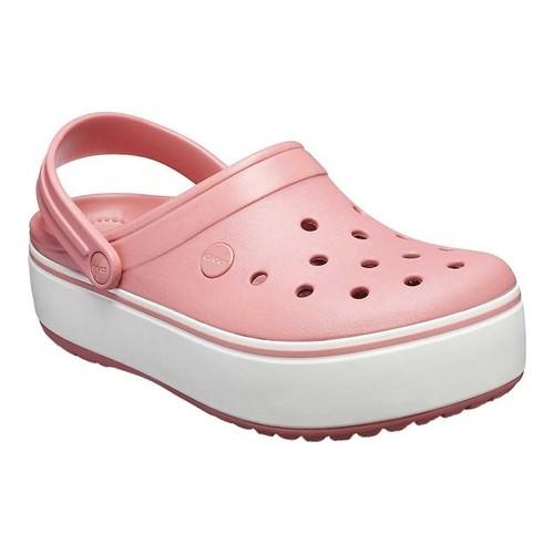 c81bf527768b7f Crocs Crocband Platform Clog - Blossom White Clogs