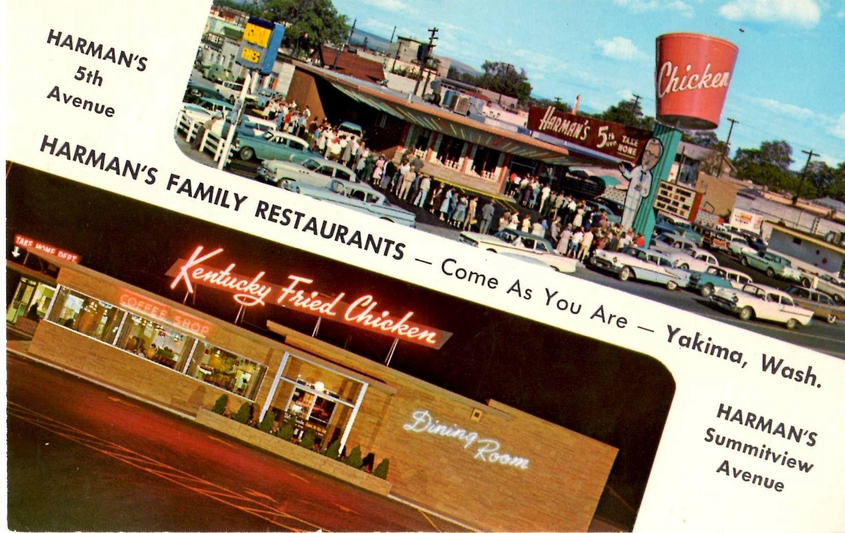 Harmon S Kfc Yakima Kentucky Fried Family Restaurants