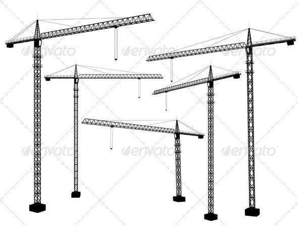Crane Silhouette Png