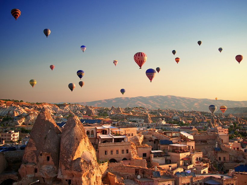 The 9 Most Scenic HotAir Balloon Rides in the World