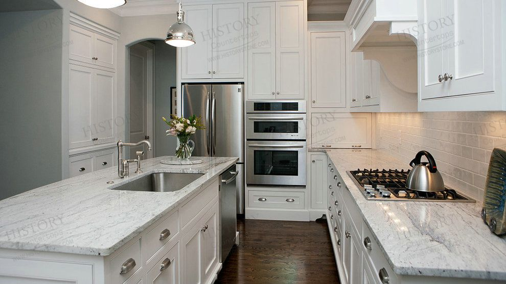 Exceptional River White Granite Granite Countertops | Kitchen Top Granite History  Countertop Photo