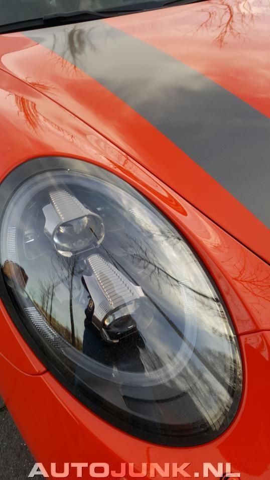 Maken of kraken: deze 991.2 Turbo S die fan is van hockeyclub Oranje-Zwart?
