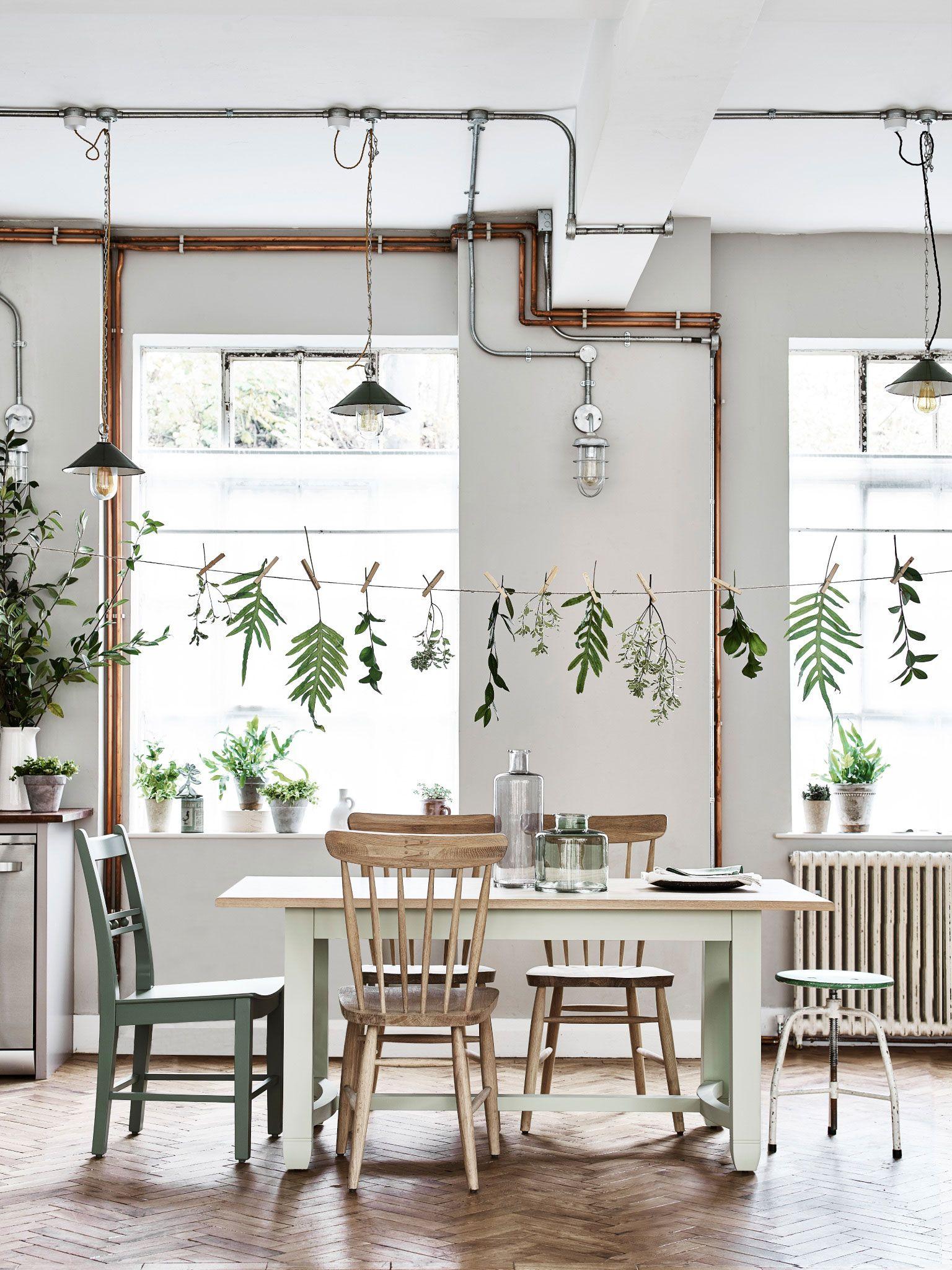 Kuche In Zartem Mintgrun Und Grun Haus Deko Dekor Innenarchitektur Wohnzimmer