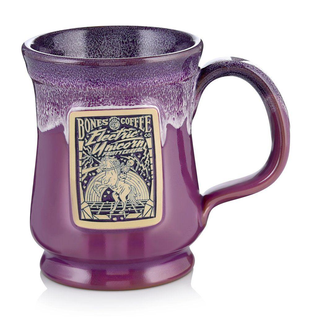 Electric Unicorn Mug from Bones Coffee Company Coffee