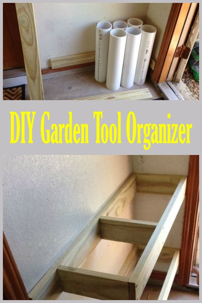 Amazing Clever DIY For Organizing Garden Tools