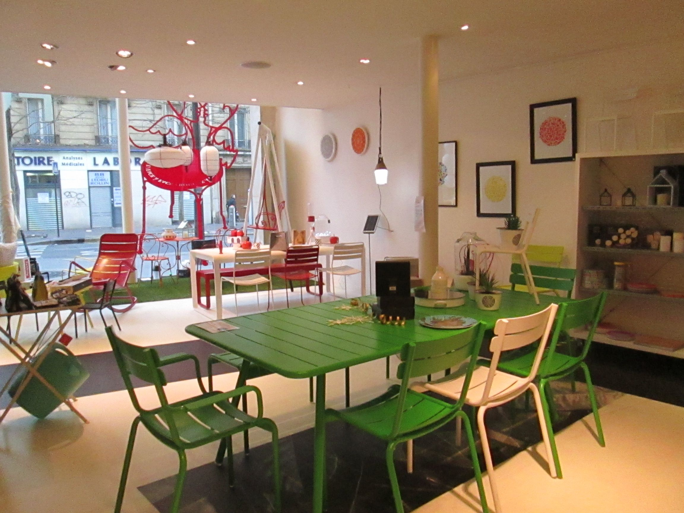 Luxembourg tables, chairs and armchair by Fermob | FERMOB ...