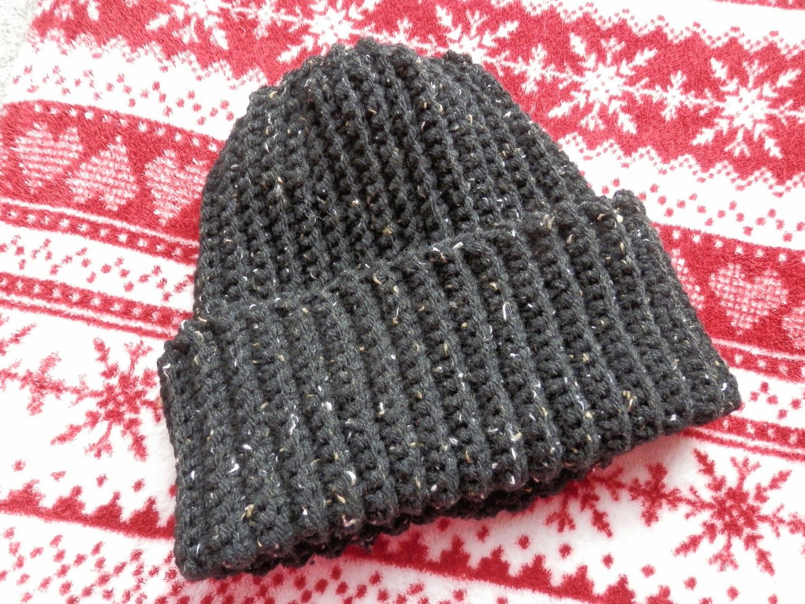 Mens Ribbed Crochet Hat Free Pattern Ravelry Secondhandsusie