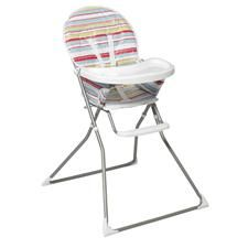 Moda Flat Fold Highchair Quantity 1 Price 39 00 Designed To Be Compact This Highchair Folds Flat Making It High Chair Bargain Baby Furniture Accessories