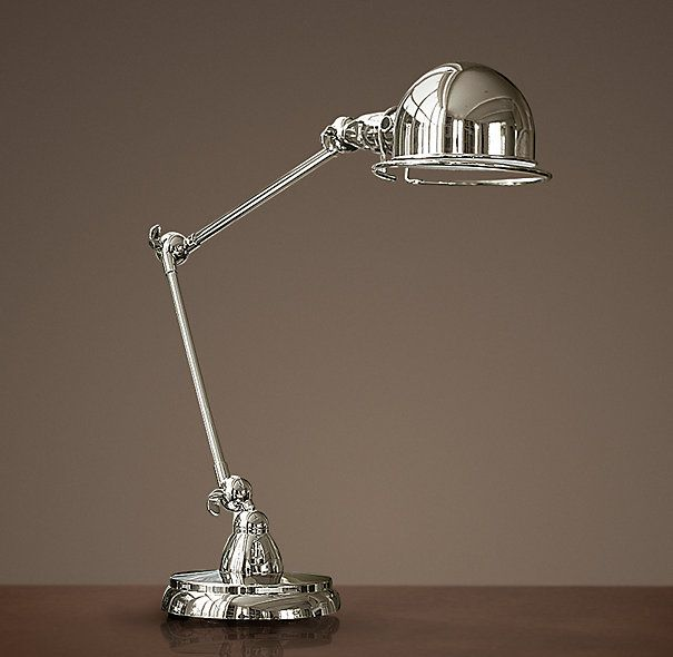 New atelier bedside lamps mine are patina nickel not polished atelier task table lamp aloadofball Choice Image