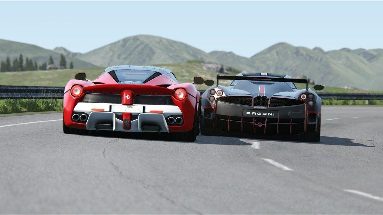 Pagani Huayra Bc Vs Ferrari Laferrari At Highlands Ferrari Laferrari Pagani Huayra Pagani Huayra Bc