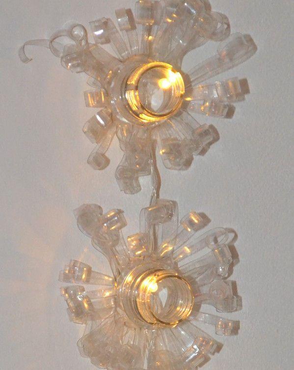 Guirlande Lumineuse Avec Des Bouteilles En Plastique | Bouteille