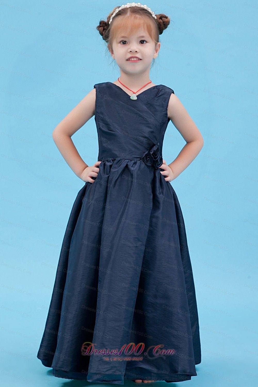 Fashion Flower girl dress in Mississauga dama dresses flower girl ...