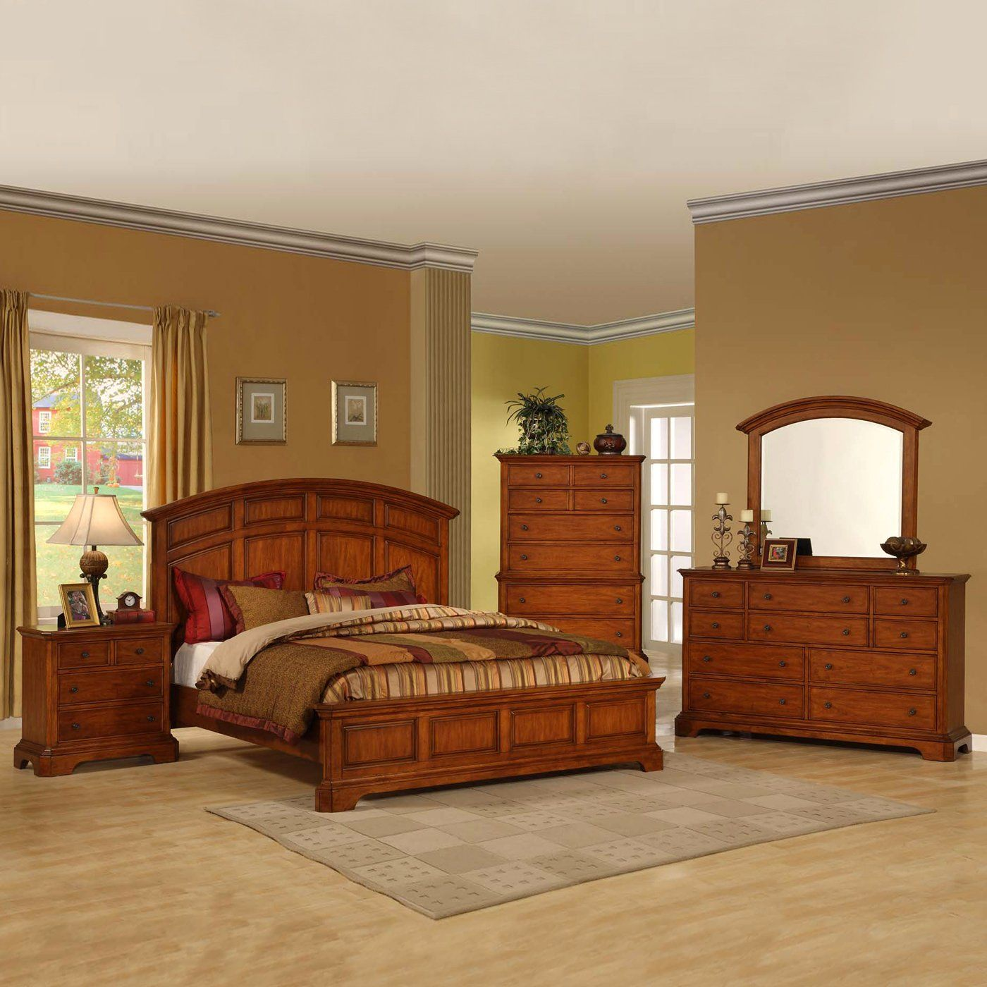 Vaughan Furniture 4305-7PC Kathy Ireland Pennsylvania ...