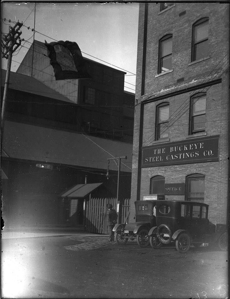 The Entrance To Buckeye Steel Casting Company On Parsons Ave In 1920