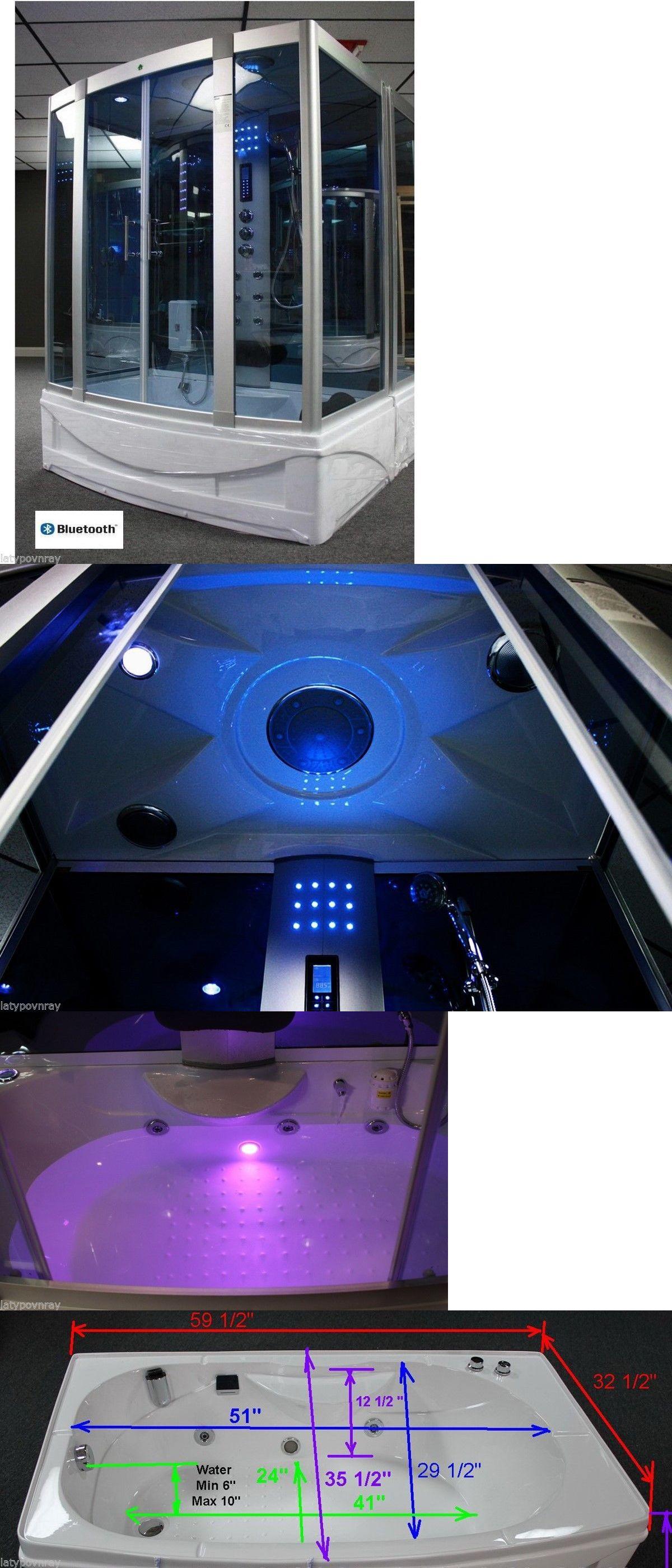 Bathtubs 42025: Steam Shower Cabin,Whirlpool Tub ,Bluetooth.6 Year ...