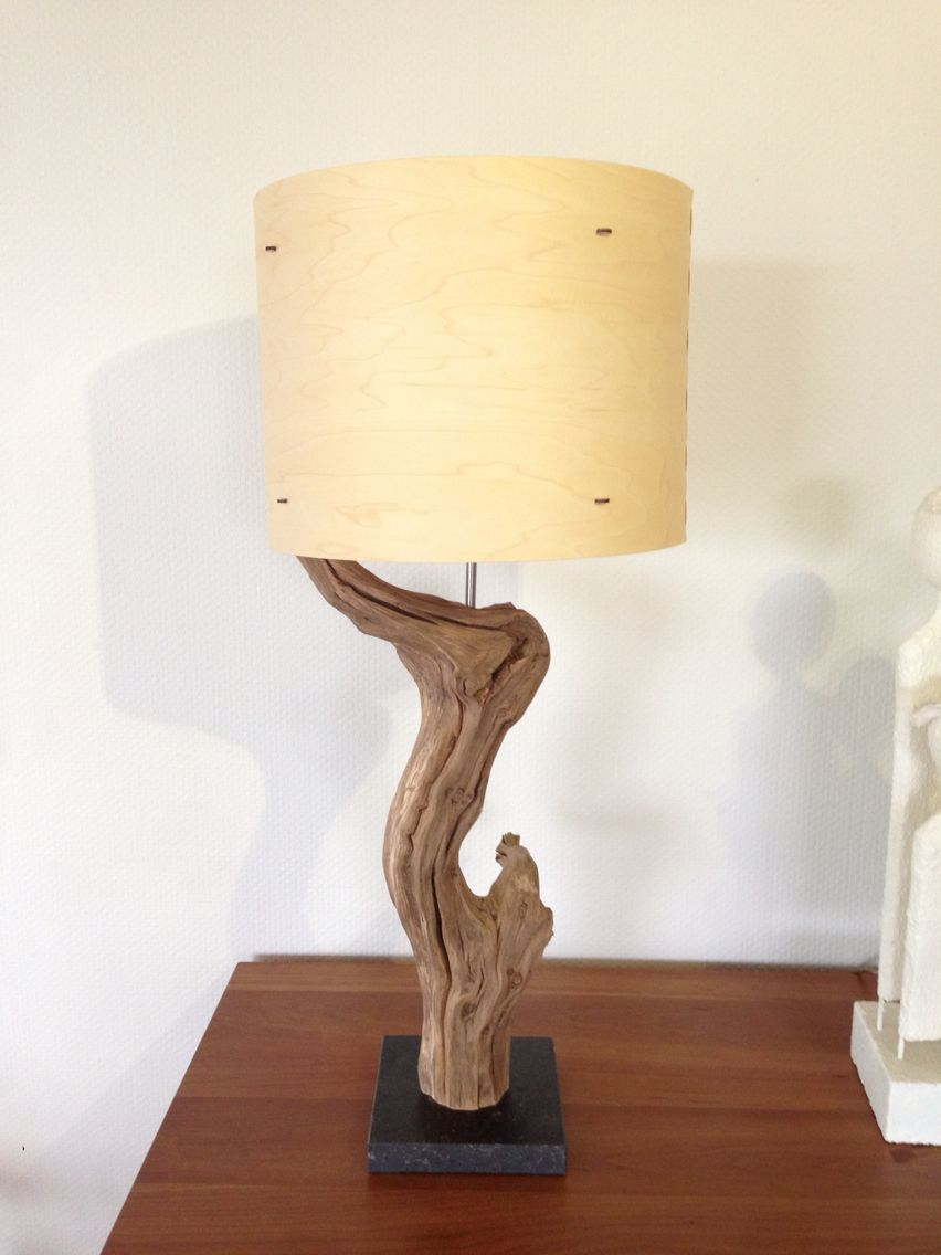 Table Lamp Weathered Old Oak Made By Gbh Natureart For More Info Look At My Webshop Www Etsy Com People Gbhnatureart Lamp Table Lamp Wood Lamps