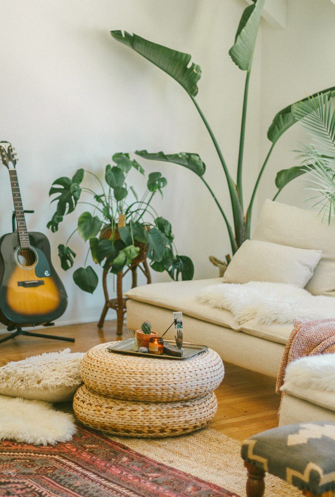 Boho Vibes and Lots of Houseplants