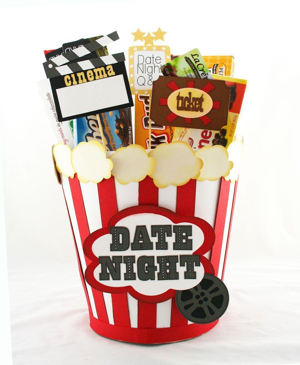 Popcorn Bucket Date Night